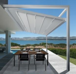 Moderne Markise exklusive optik für moderne terrassen
